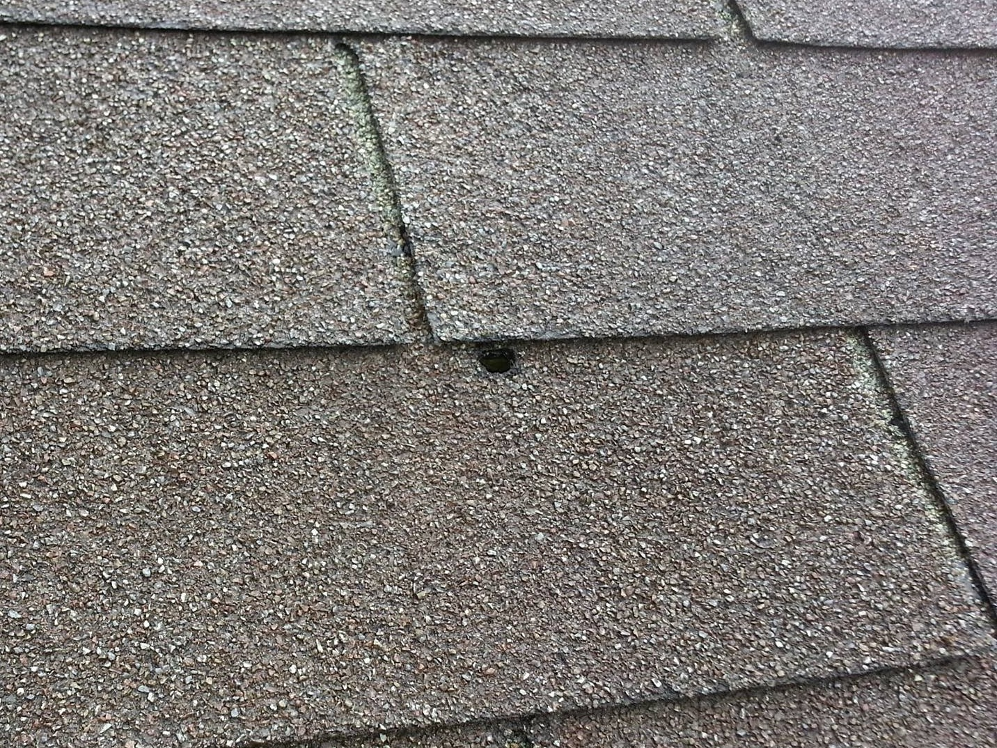 Exposed Nails Can Cause Roof Leaks