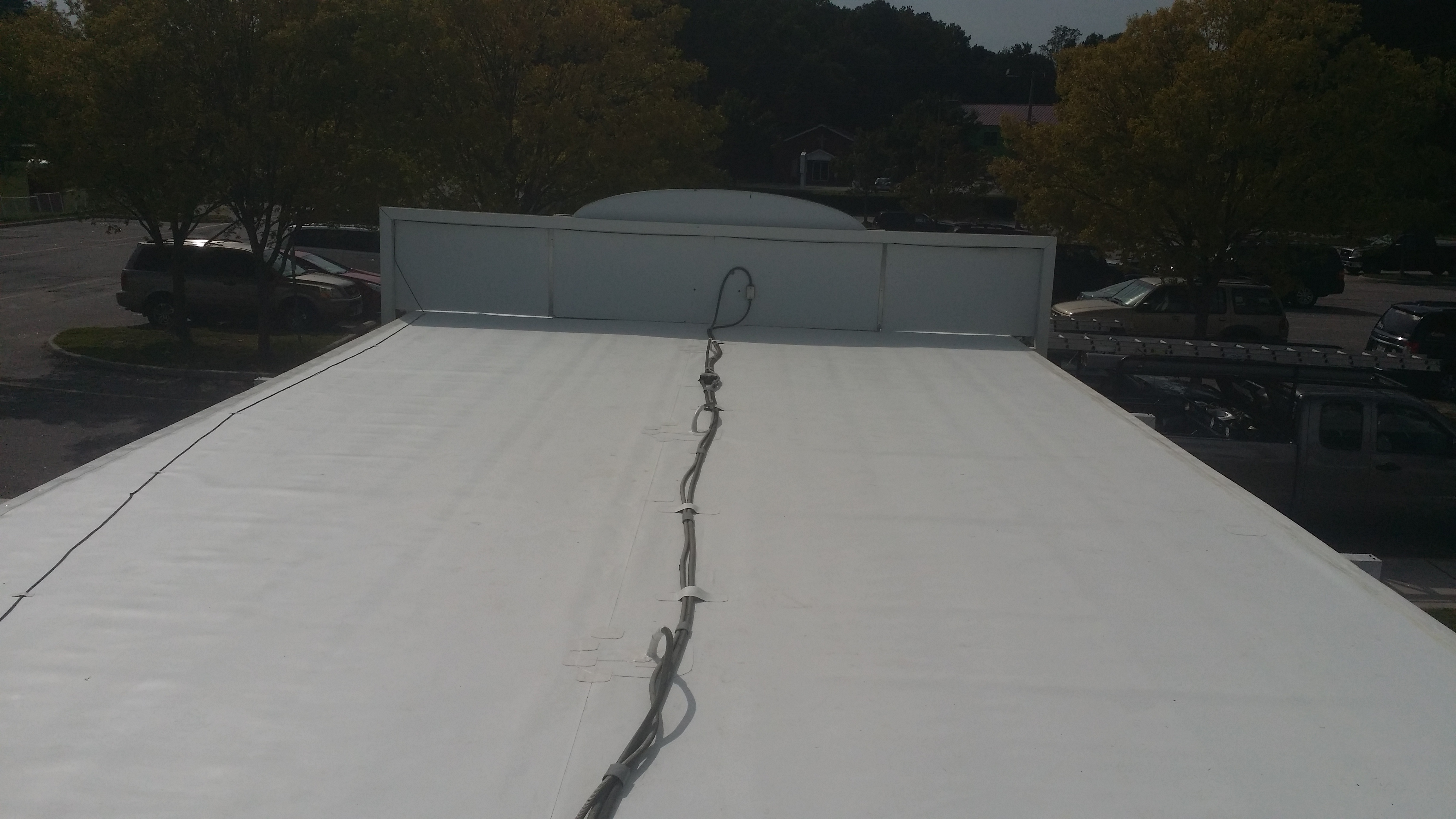 TPO Flat Roof Replacement.