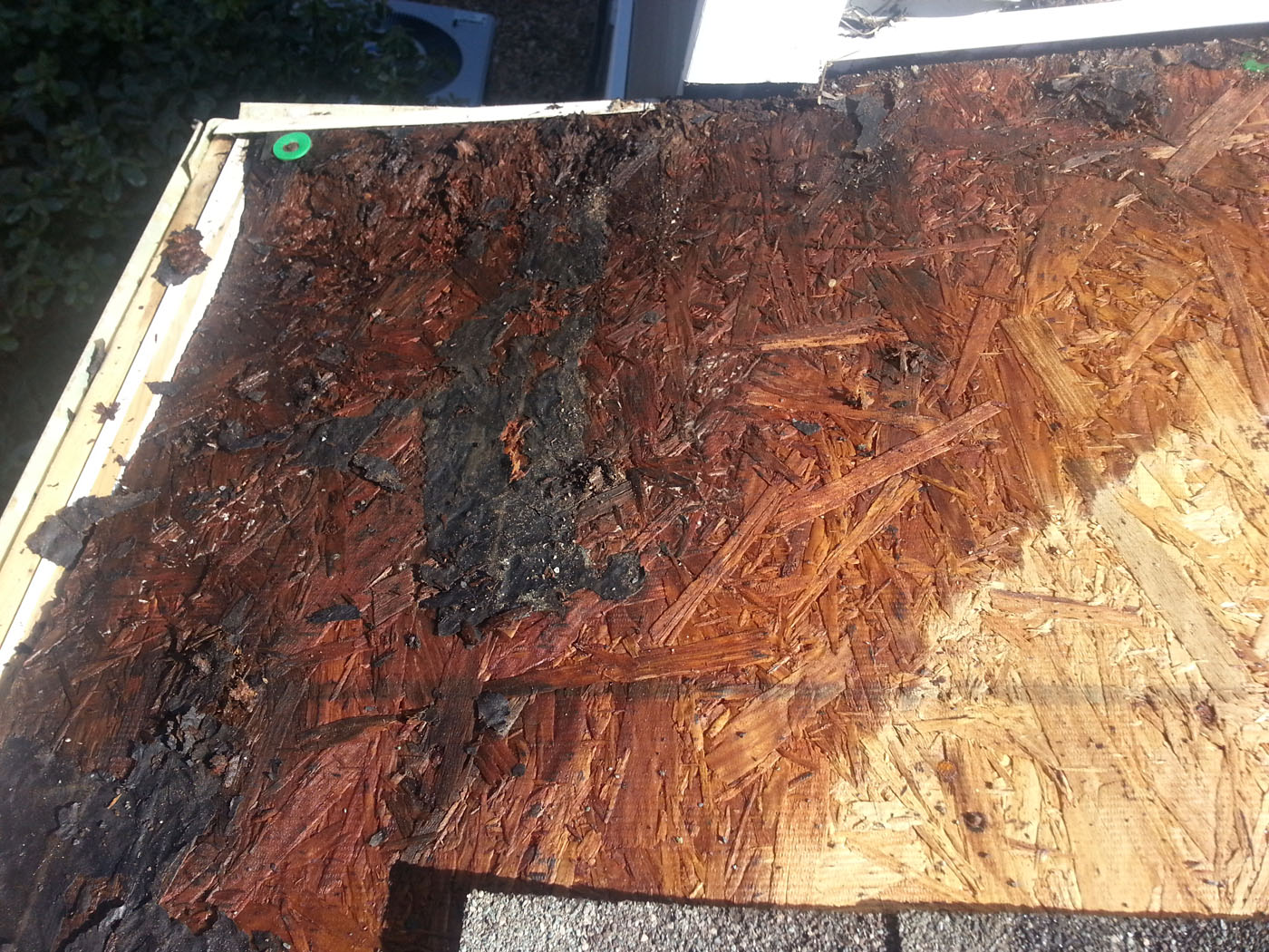Residential Shingle Roof Repair Bad Wood